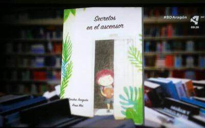 Secretos en el ascensor en los informativos de Aragon Tv